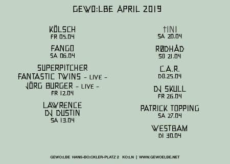 G Programm April - Kaput Mag