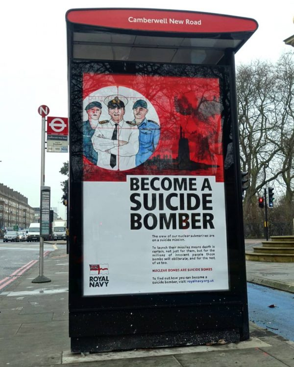 Become a suicide bomber
